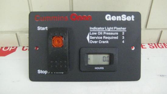 300 4937 Cummins Onan Deluxe Remote Panel With Hour Meter