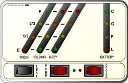 KIB Monitor Panel Model # K23WLNB