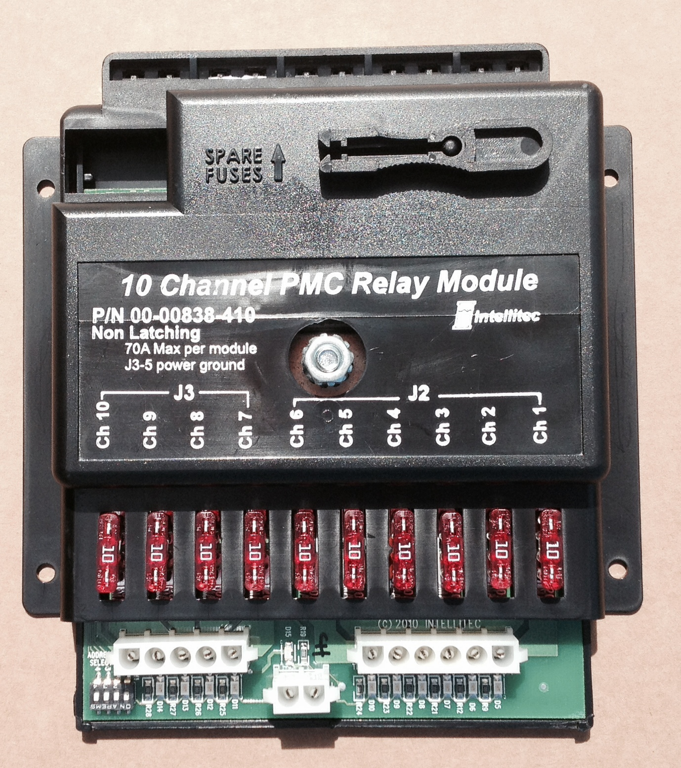 10 Relay Output Module 12v Non Latching 00 00838 410 Dpdt 12vdc