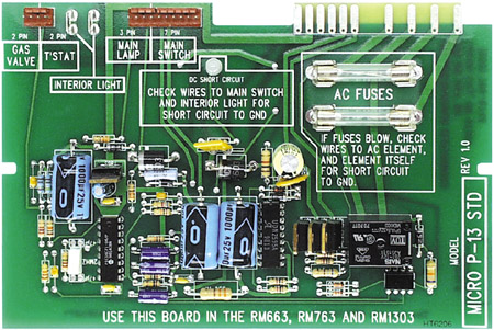 Dometic Refrigerator Replacement P711 Board