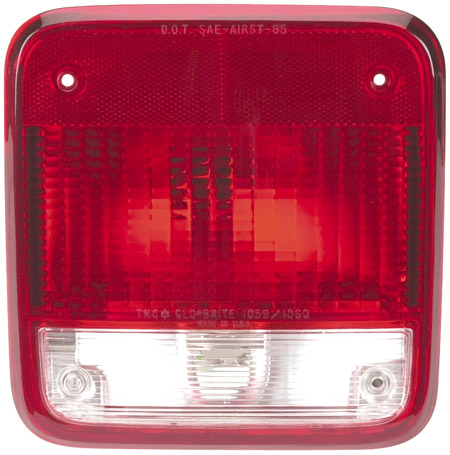 Red Class A Drivers Side Tail Light 127 1059 Rv Parts