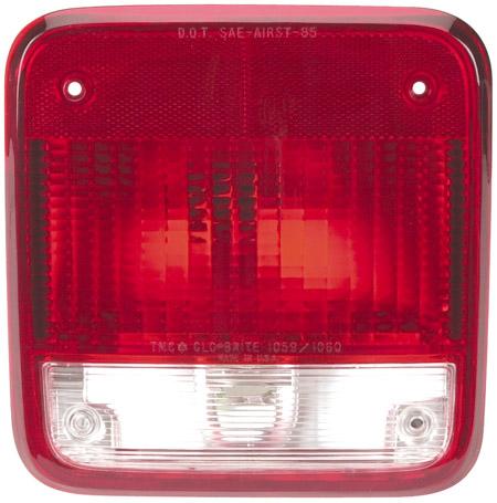 Georgie Boy Rv >> Red Class A Drivers Side Tail Light - 127-1059 - RV Parts Express