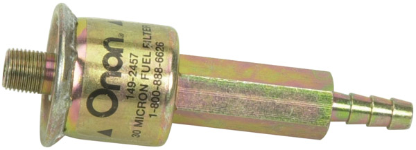 onan replacement fuel filter for microlite & microquiet models #149-2457 -  rv parts express - specialty rv parts retailer