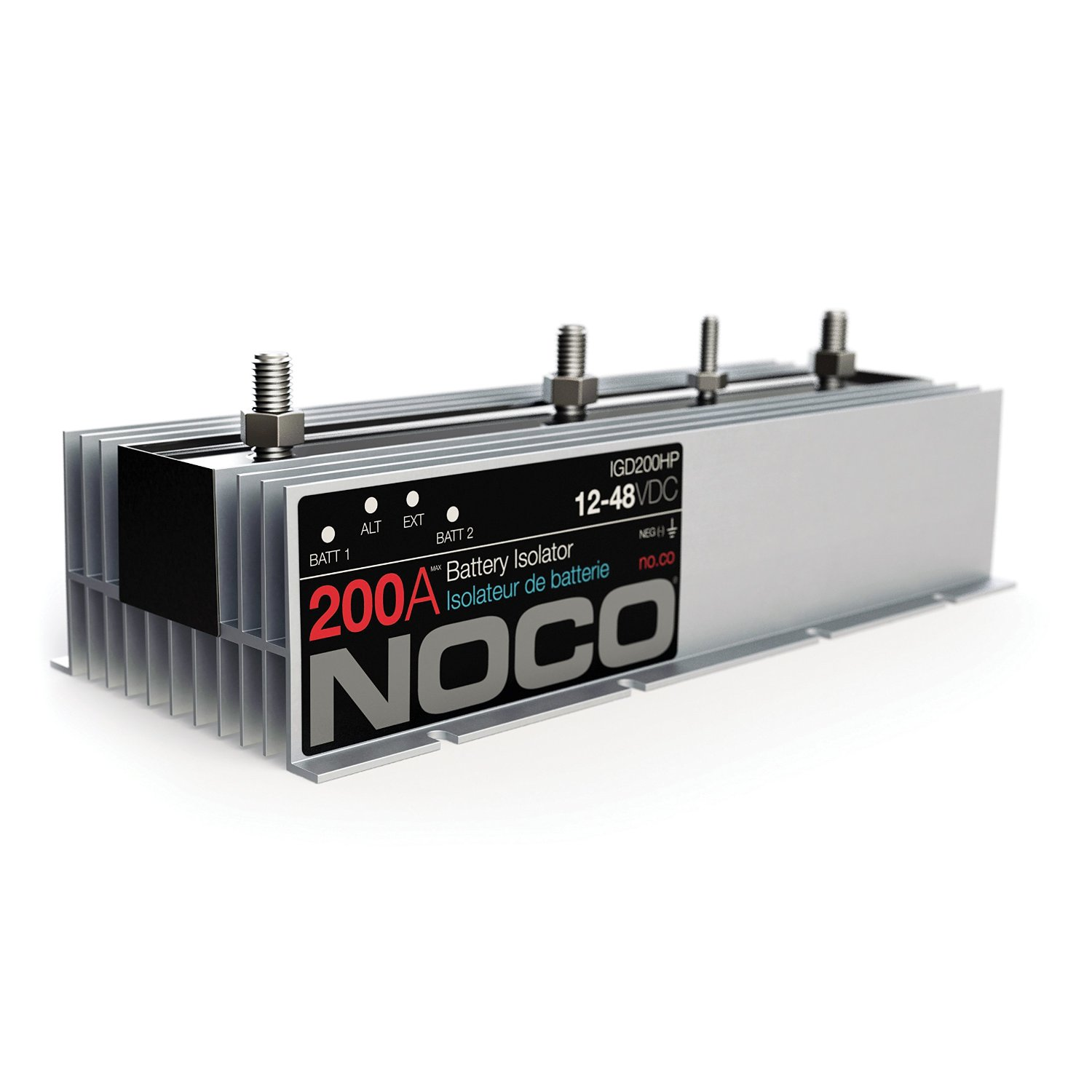 Noco Battery Isolator Wiring Diagram Igd200hp Complete Cole Hersee High Performance 200 Amp Rv Parts Rh Rvpartsexpress Com Dual