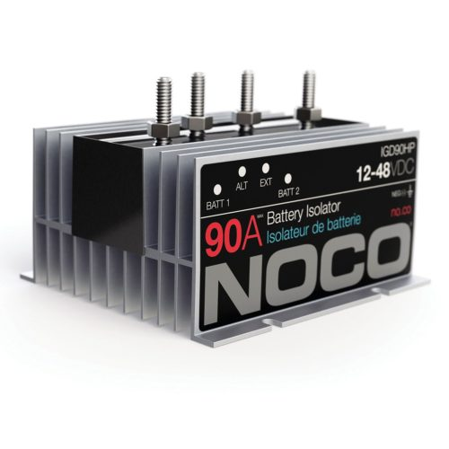 NOCO IGD140HP 140 Amp Battery Isolator - RV Parts Express ... on battery switch wiring diagram, battery isolator solenoid diagram, dual battery isolator diagram, battery isolator circuit diagram, noco battery isolator installation, boat battery wiring diagram, noco igd200hp battery isolator 200 amp, rv battery isolator diagram, noco battery isolator truck chevy 2012, multi battery isolator diagram, battery isolation solenoid wiring diagram, dual battery wiring diagram, challenger on rv battery wiring diagram,