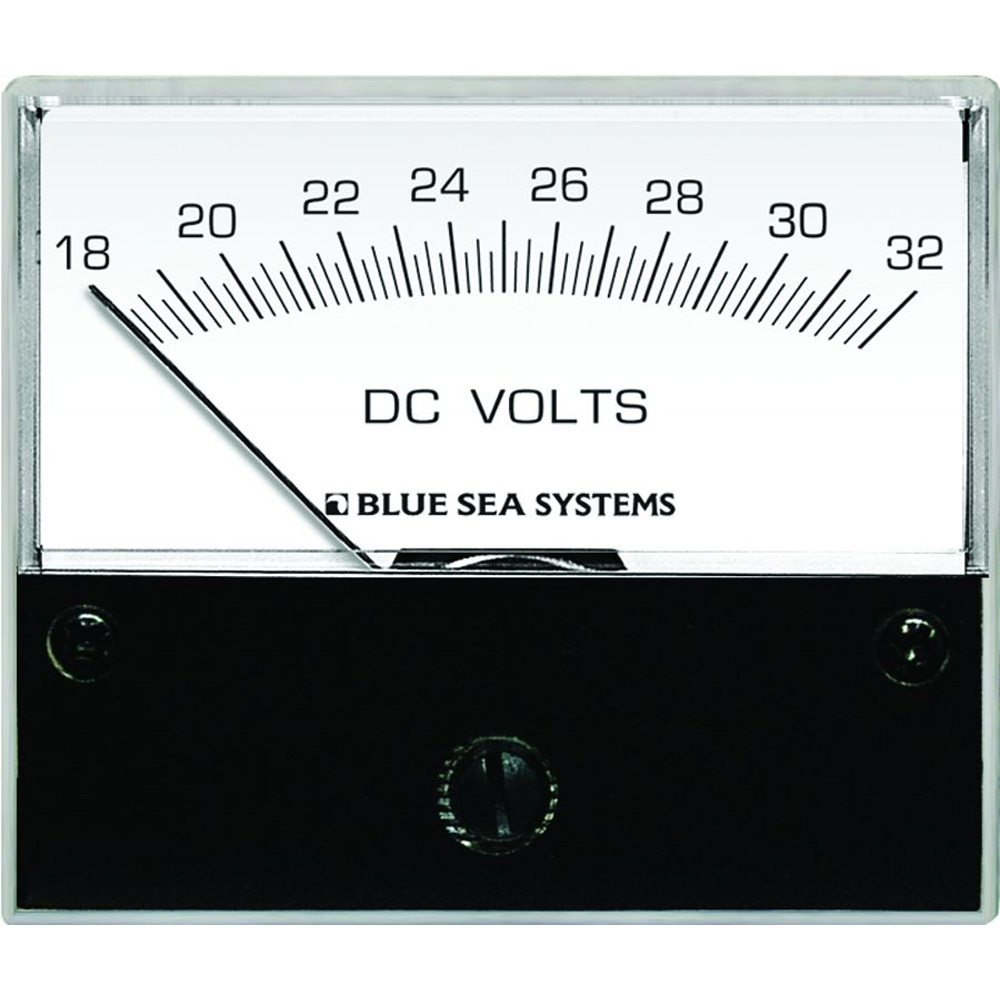 Blue Sea AC Analog Micro Voltmeter-2 Face