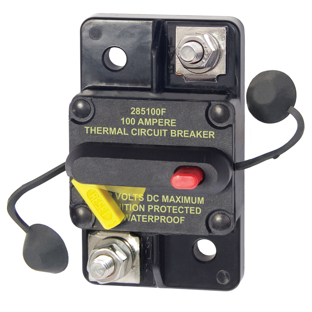 Blue Sea Boat//RV 7226 A-Series Single Pole AC//DC Toggle Circuit Breaker 40 AMP
