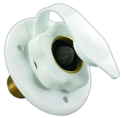 Polar White OEM RV Water Inlet