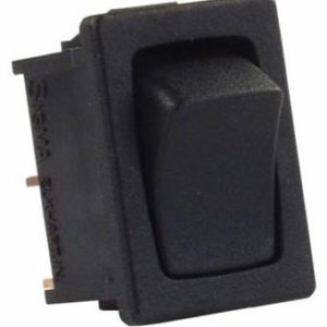 Momentary Mini Black RV Component Switch
