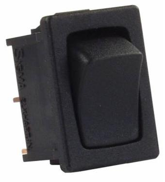 Momentary Mini Black RV Component Switch