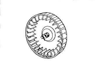 Suburban Furnace Combustion Wheel 350184