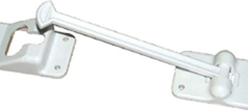 "4"" Polar White T-Style RV Door w/1-1/4"" Bumper"