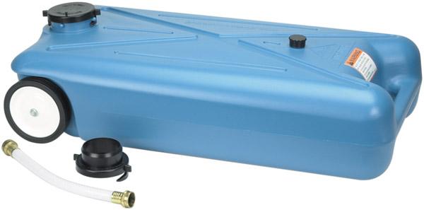 Portable Rv Tanks : Gallon rv tote along drain water tank portable waste