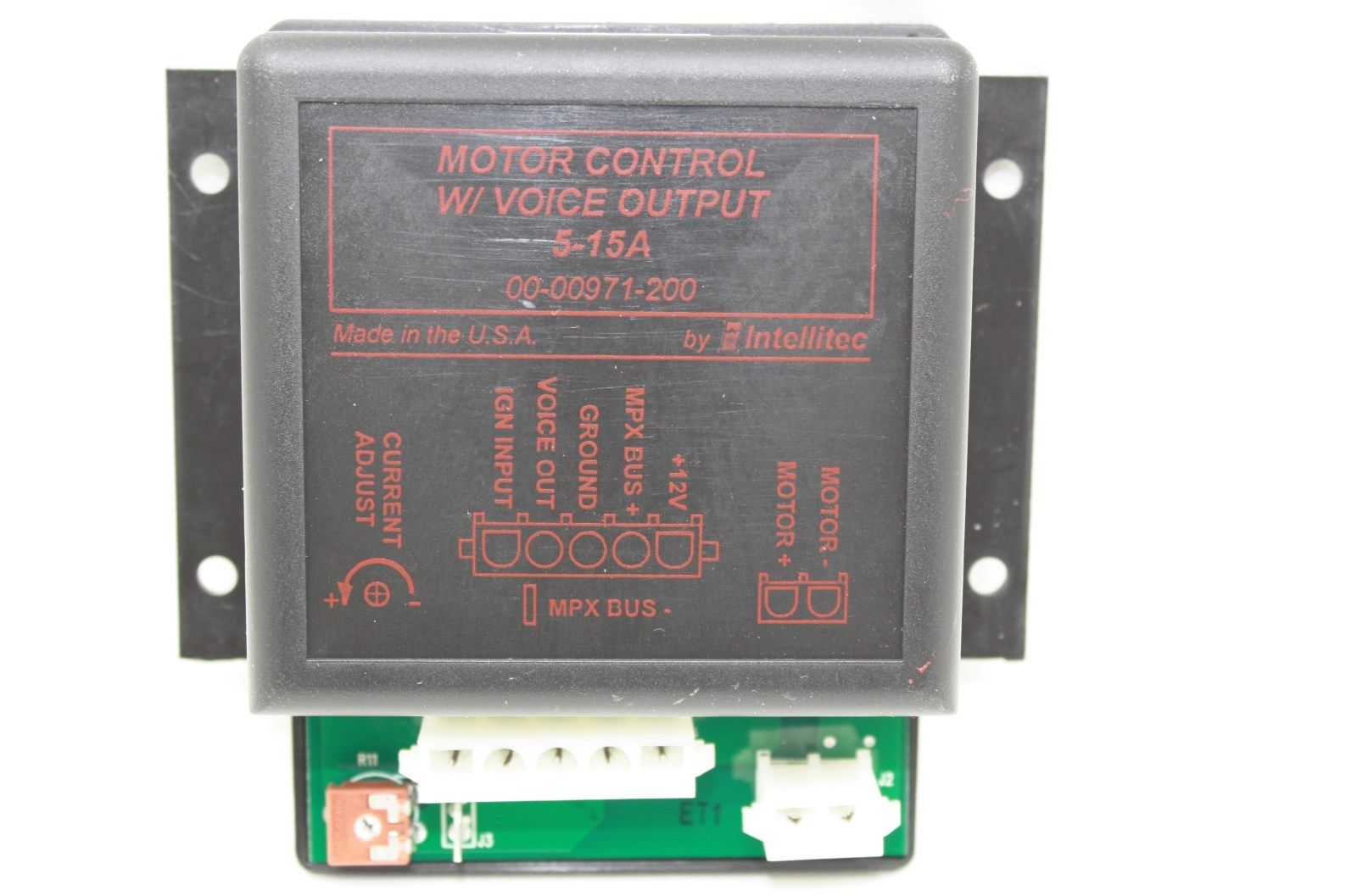 Intellitec slide out controller w voice output 00 00971 200 for Slide out motor manufacturers