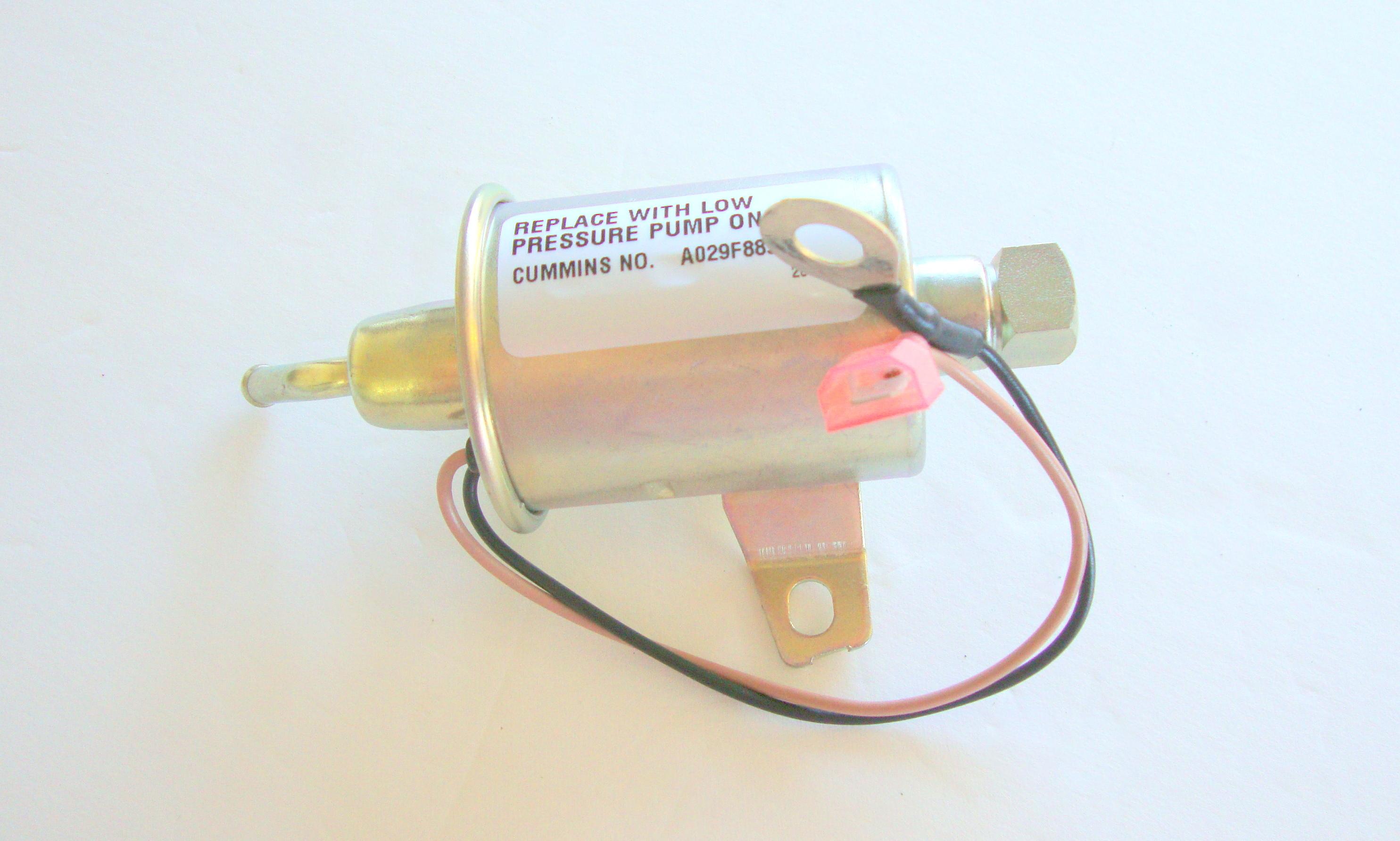 NEW Onan A029F889 Generator Fuel Pump Replaces CUMMINS 149-2311-02