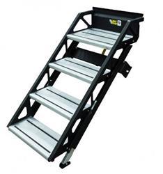 Lippert 678024 SolidStep Fold-Down RV Quad Steps - 26