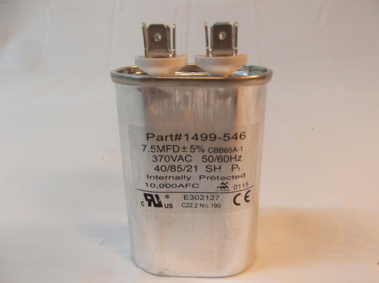 RV Air Conditioner Fan Run Capacitor 1499-5461