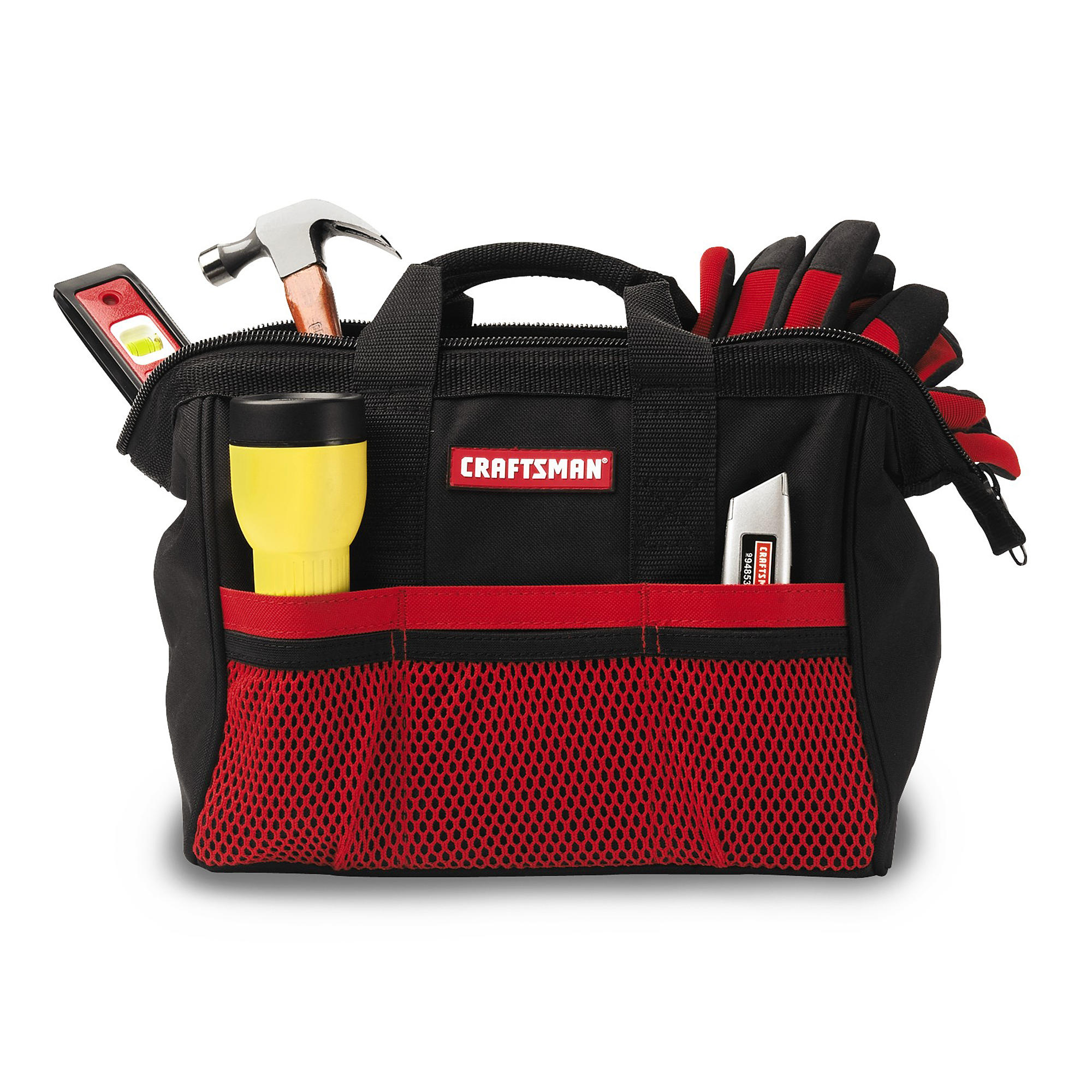 Craftsman large mouth tool bag everstart 3a smart charger